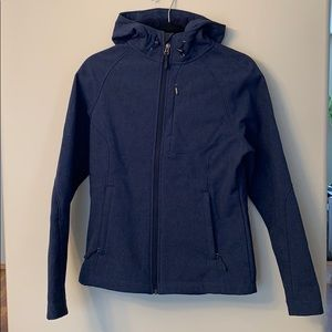 Blue Waterproof Fleece Coat